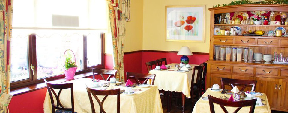 Full Irish breakfast included with rooms